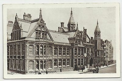 "Postcard, ""The City Series"", Victoria Law Courts, Birmingham"