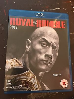 WWF WWE Royal Rumble 2013 Bluray The Rock Cm Punk Cena