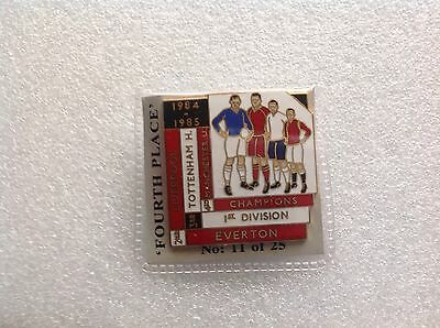 1984/85 Manchester United Top Four Finishers Badge
