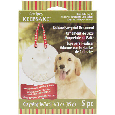 Sculpey Keepsake Kit Pawprint Ornament H3001