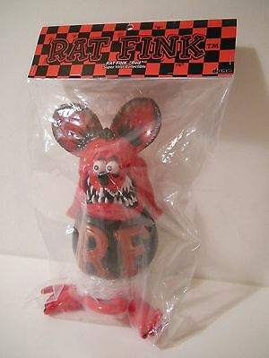 Dune Rat Fink Red Ver. Soft Vinyl Collectible Figure Ed Roth Sofubi Mooneyes
