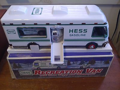 "1998 Hess Toy Truck Recreation Van,  Dune Buggy & Motorcycle - ""New"" Mint In Box"