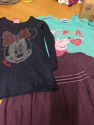 Small Little Girls Bundle Of 3 Tops Age 4yrs All Used