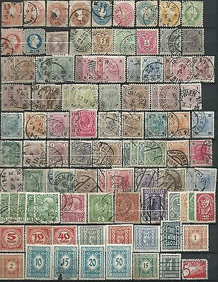 Austria Early Stamps Used, MH, MNH, Good collection