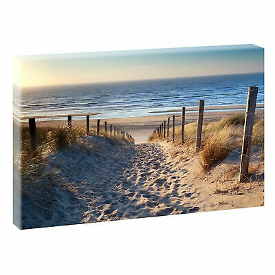 bild poster leinwand strand meer nordsee wandbild deko 624 xl ca 150 cm 80 cm eur 37 90. Black Bedroom Furniture Sets. Home Design Ideas