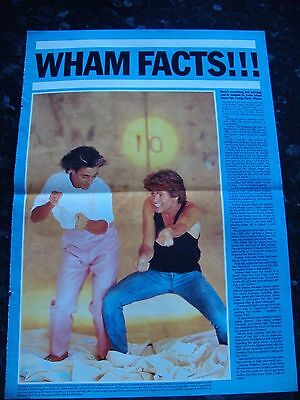 Wham - George Michael Information Poster - Magazine Poster