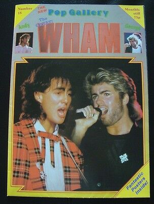 Wham Poster, Pop Gallery Number 18 - George Michael