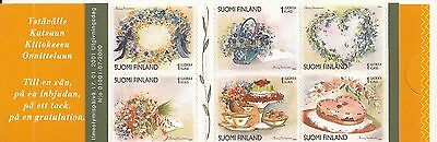 FINLAND self-adhesive stamp booklet 2000 MNH