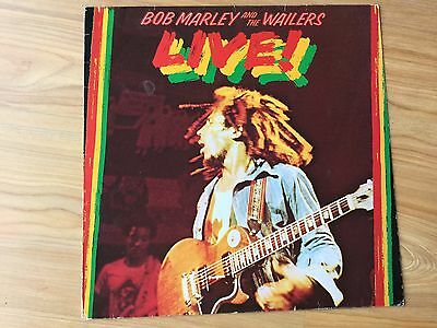 "Bob Marley and the Wailers Live 1975 12"" vinyl record"