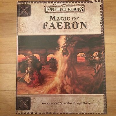 Dungeons and Dragons Magic of Faerun Forgotten Realms Game Adventure