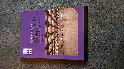 Code of Practice for In-service Inspection and Testing of Elec..., Iee Paperback