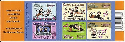 FINLAND self-adhesive stamp booklet 2003 MNH
