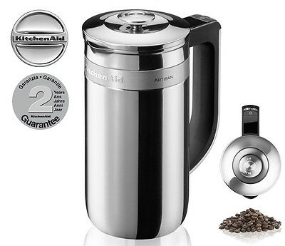 KitchenAid Precision Press Coffee Maker, Stainless Steel 2 year Guarantee