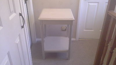 Wooden Side / Lamp Table,Ideal Shabby Chic Project.