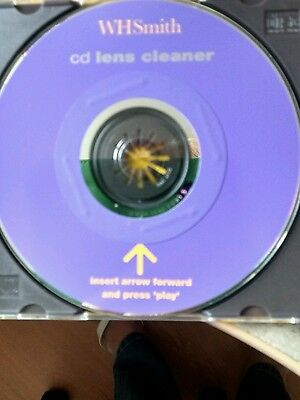 Wh Smith Cd Lens Cleaner