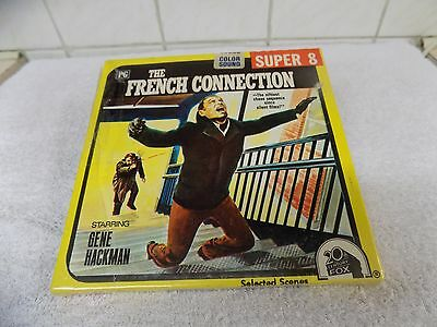 8mm sound film - The French Connection 400ft aprox Super 8