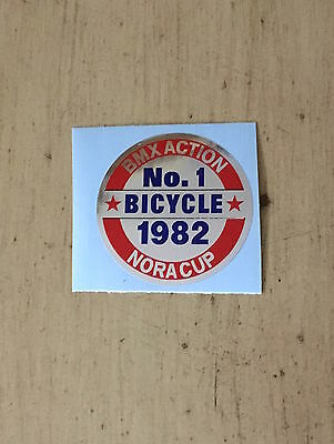GT 1982 GT No. 1 Bicycle Coin Decal- 1 decal