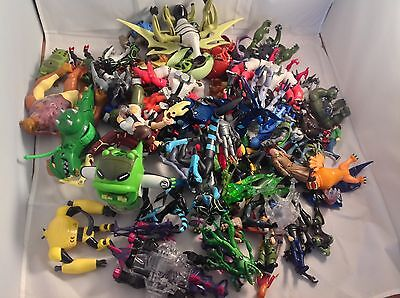 Ben 10 Action Figures - large collection 70+