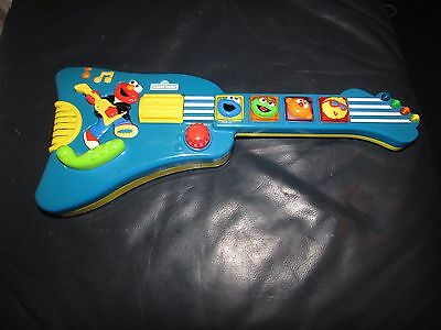 Sesame Street Elmo's Elmo Rock And Roll Guitar Musical Toy