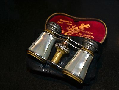 Antique opera glasses mother of pearl