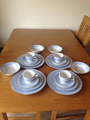 Royal Doulton 20 piece dinner service Daily Mail boxed by Bruce Oldfield
