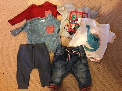 Next Boys Bundle 3-6 Months Tops And Trouser