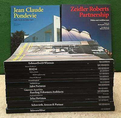Collection of Archtecture Books (16 new books)