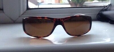 ladies/women's brown sunglasses with case