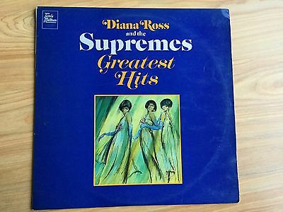 """Diana Ross and the Supremes Greatest Hits 12"""" vinyl record"""