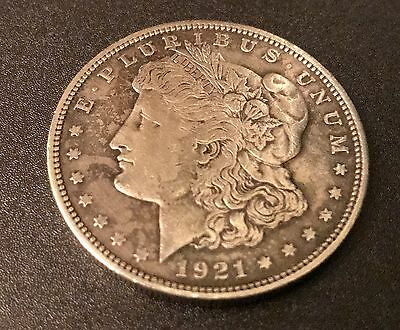 USA 1921-D Morgan Dollar 90% Silver