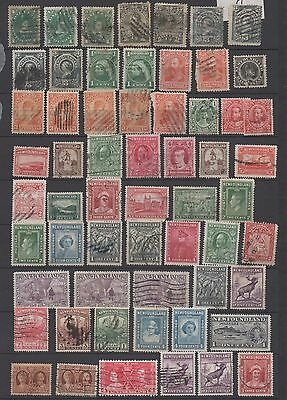 Newfoundland Terre-Neuve Canada Lot 139 Timbres:stamps Used 1887-1947 Rrr!!!