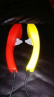 MICRO SCALEXTRIC  yellow X Red POWER CONTROLLER  TRIGGER x2 larger jack type.