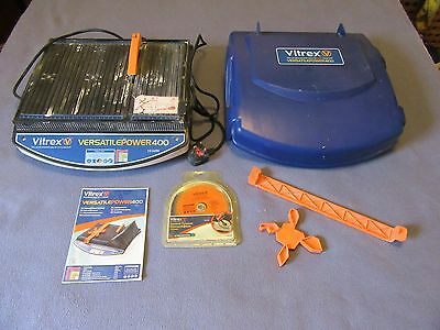 Vitrex Versatile 400 Tile Cutter With Unused Spare Blade And Instruction Booklet