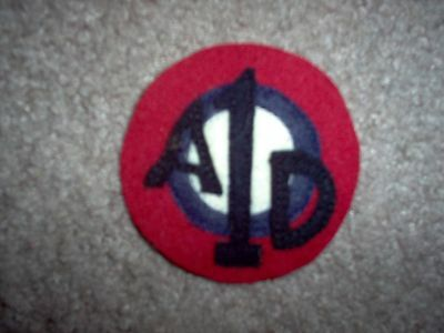 WWI US Army  Air Service 1st Air Air depot Patch  AEF