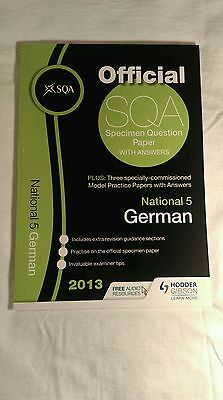 SQA German National 5 Past Papers