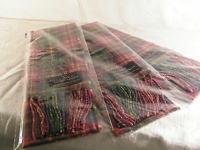 Lochcarron of Scotland Tartan Scarf for Boys & Girls, really Warm 100% Wool.