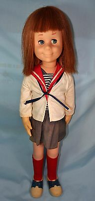 MATTEL'S  1960's CHARMING CHATTY IN ORIG. TAGGED 2-PIECE OUTFIT