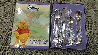 Disney - Winnie the Pooh - Stainless Steel Cutlery Set - Red Ventures