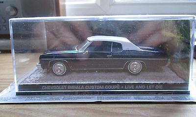 James Bond Cars Collection. Chevrolet Impala Custom Coupe. New & Sealed