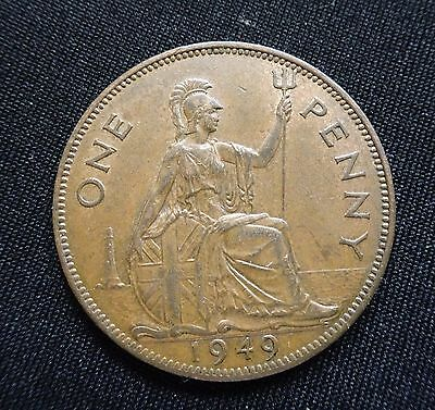 One Penny 1949, George VI