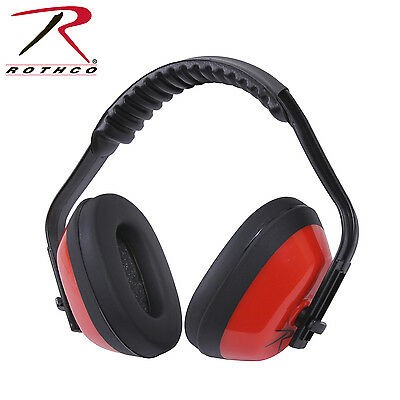 Rothco Noise Reduction Ear Muffs - Padded Adjustable Shop & Range Noise Reducers
