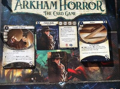 Roland Banks Guardian Cards Arkham Horror The Card Game Lcg