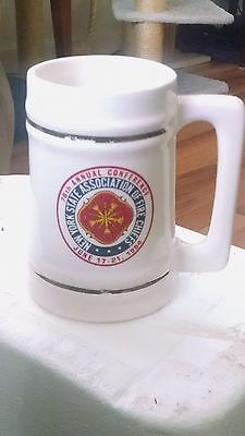 Fire Chiefs Mug Stein New York State 78th Annual Conference 1984 Commemorative