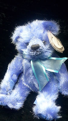 Retired TY Attic Treasures Jointed Bear RIVER Still with TY Tag