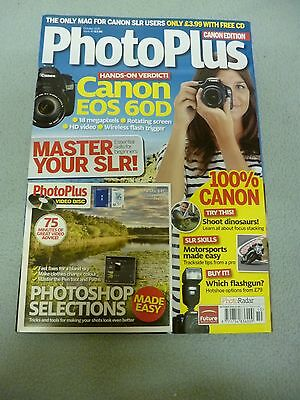 PhotoPlus Magazine Cannon Edition Issue 40 October 2010 + Photoshop CD