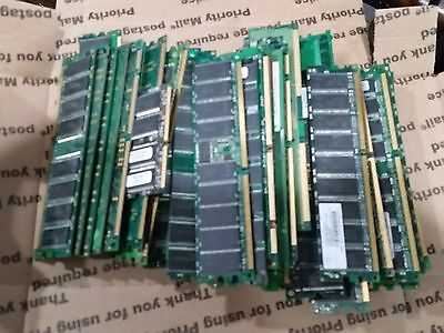 GOLD- 2 lbs  Scrap Computer Memory for  Gold Recovery!!