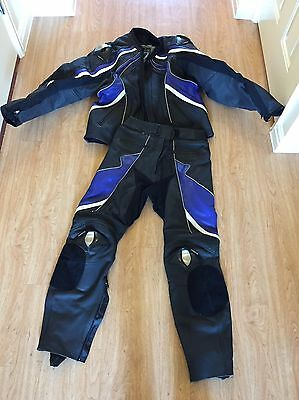 Men's Frank Thomas Leather Jacket And Trousers