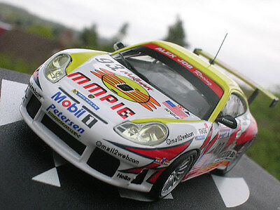 PORSCHE 911 GT3-RS 24h Le Mans 2003 scale 1/43 in perspex case racing rally