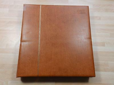 (3273) Austria Stamp And Cover Collection In Brown Safe Album 1982-2000