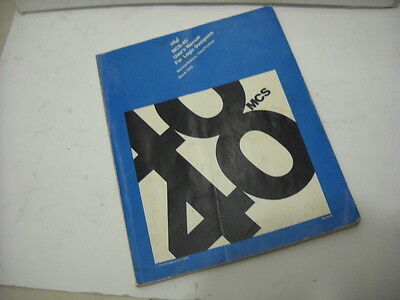 VINTAGE INTEL 4004 CPU DESIGN BOOK - very rare